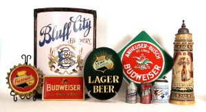 Breweriana Antique Advertising Collectibles
