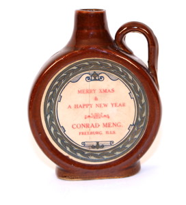 Conrad Meng Whiskey Jug 1900 Freeburg , IL