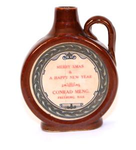 Conrad Meng Whiskey Jug 1900 Freeburg , IL