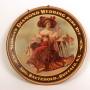 Sloman's Diamond Wedding Pure Rye Whiskey Sign, Aug. Baetshold, Buffalo, NY
