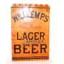 Lemp Porcelain Lager Beer Sign, St. Louis, MO. Circa 1890