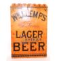Lemp Porcelain Lager Beer Sign, St. Louis, MO. Circa 1890