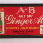 Anheuser Busch Ginger Ale Sign
