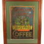 Edward Westen Tea & Spice Co. Tin Sign, Cook's Pride Coffee, St. Louis, MO. Circa 1900