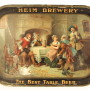 Heim's Select Brewery Beer Serving Tray 1910