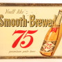 Hyde Park 75 Tin over Cardboard Beer Sign, St. Louis, MO. Circa 1952
