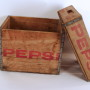 Pepsi-Cola Wooden Carrying Crates 1960's
