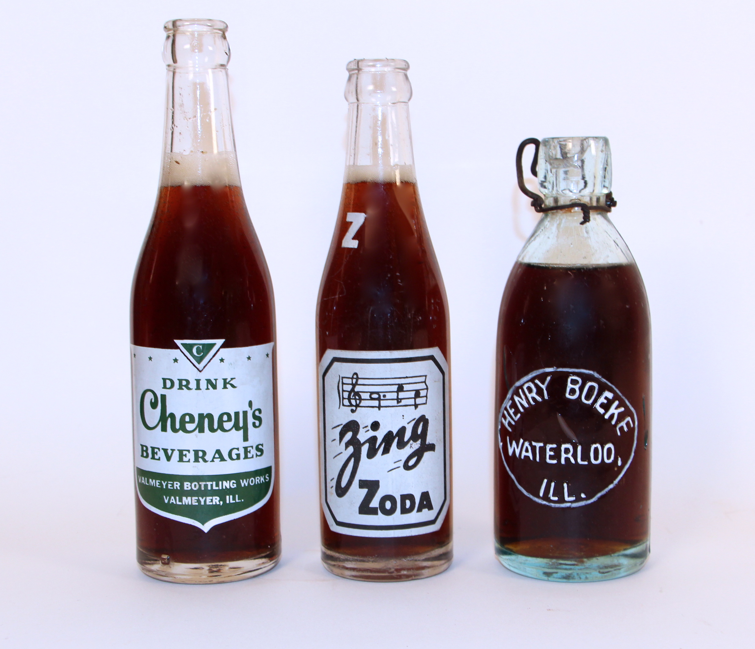 1890- 1940 Hutch & ACL Soda Bottles