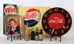 Vintage Soda Collectibles 1890's - 1950's