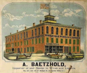 August Baetzhold Whiskey Factory in Buffalo, NY