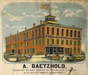 August Baetzhold Whiskey Factory in Buffalo, NY