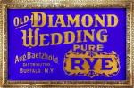 Baetzhold's Diamond Wedding Pure Rye Sign