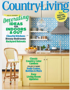 Country Living Magazine July/ August 2015 Issue