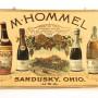 M. Hommel Wine Lithograph, Sandusky, OH. Circa 1900