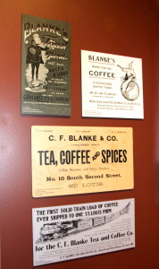 C.F. Blanke Coffee Advertisements - at the MO History Museum