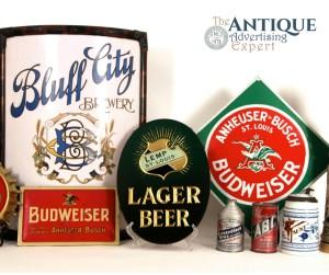 Breweriana 1900- 1940's