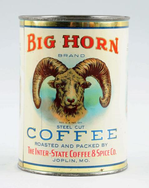 Big Horn Coffee Can, Joplin, MO. United States Coffee & Spice Co.