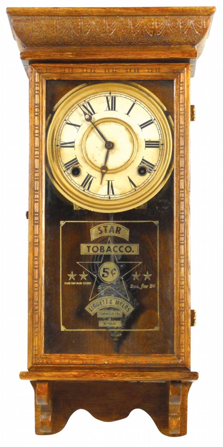 Liggett Myers Advertising Tobacco Clock, St. Louis, MO