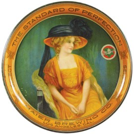 Maier Brewing Company Select Beer Tray, Los Angeles, CA