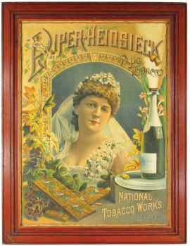 Piper Heidsieck National Cut Plug Tobacco, Louisville, KY