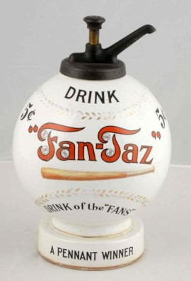 Fan-Taz Soda Syrup Dispenser, Circa 1920