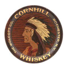 Cornhill Whiskey Tray, Rochester NY, Circa 1910