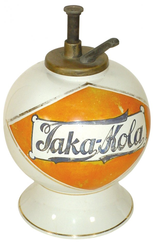 Taka Kola Soda Syrup Dispenser, Circa 1915
