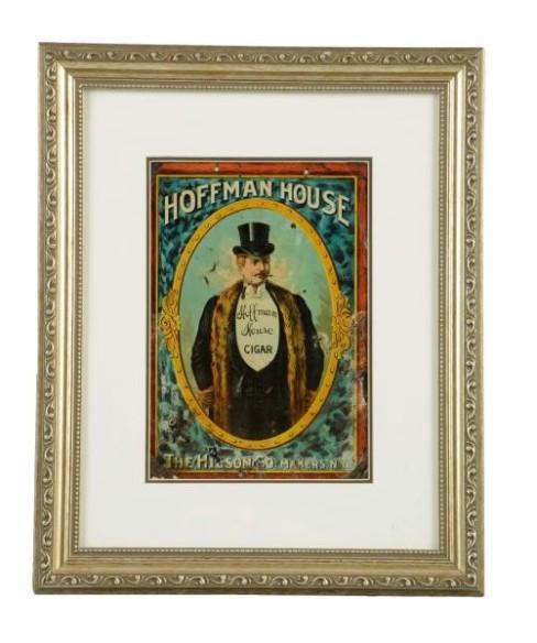 Hoffman House Tin Cigar Sign, Hilson Co, N.Y.