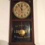 A. Graf Whiskey Clock, St. Louis, MO, Louisville, KY. Circa 1905