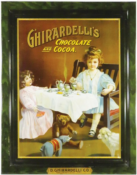 The Antique Advertising Expert Ghiardelli Chocolate And