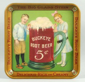 Buckeye 5 Cents Root Beer Serving Tray