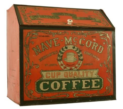 Nave-McCord Coffee Bin, St. Joseph, MO. Circa 1905
