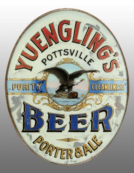 Yuengling ROG Corner Sign, Pottsville, PA. Circa 1895