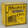 J. H. Allen & Co Coffee Bin, St. Paul, MN. Circa 1900