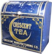 CRESCENT MANUFACTURING CO., SEATTLE, WA.  TEA BIN.  Circa 1900