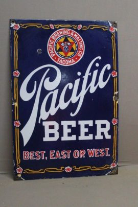 Fake Pacific Porcelain Sign