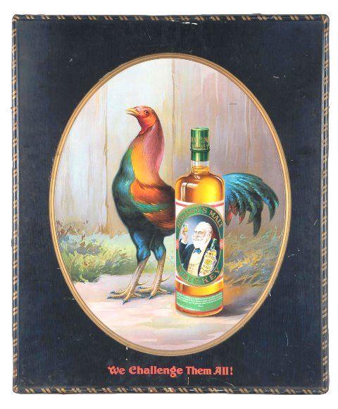 Castalla Club Rye Self Framed Tin Sign