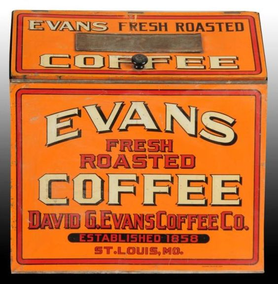 David G. Evans Coffee Bin, St. Louis, MO.