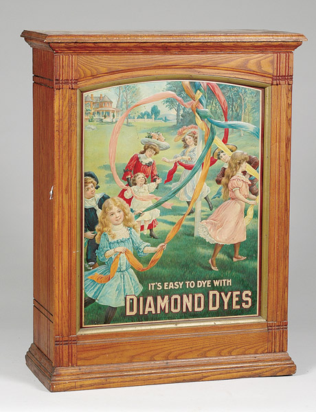 Diamond Dyes Spool Cabinet
