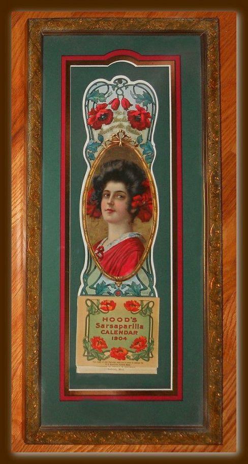 Hoods Sarsaparilla 1904 Calendar