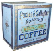 PAXTON & GALLAGHER ROASTED MOCHA & JAVA COFFEE BIN