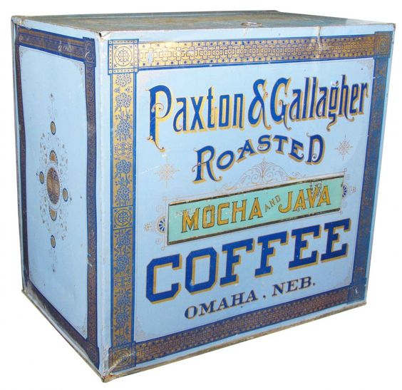 Paxton & Gallagher Roasted General Store Coffee Bin, Omaha, NE