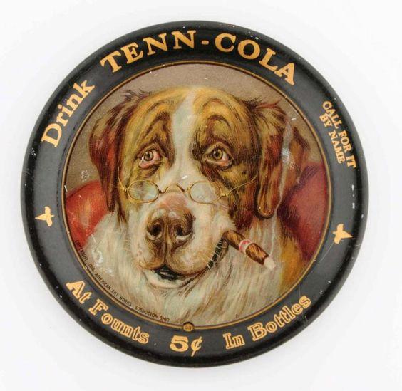 Tenn Cola Tip Tray, Circa 1910