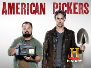 American Pickers Frank Fritz and Mike Wolfe