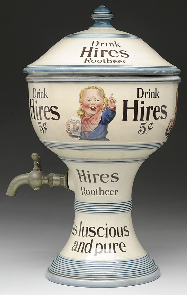 Hires Root Beer Syrup Dispenser, Circa 1900