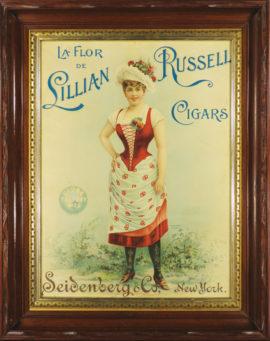 Lillian Russell Cigar Print, Seidenberg & Co. NY, NY