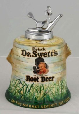 Dr Swett's Root Beer Syrup Dispenser, Circa 1930