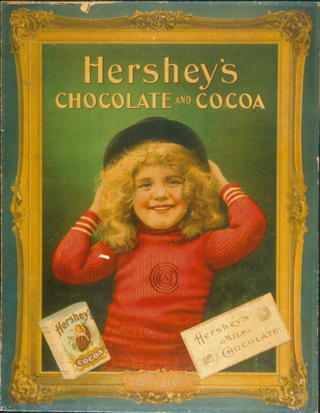 Hershey's Chocolate and Cocoa Advertisement, Hershey, PA., Circa 1920
