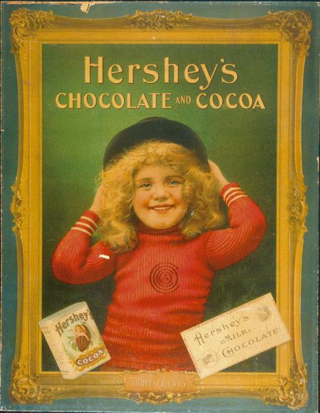 Hershey's Chocolate and Cocoa Advertisement, Hershey, PA., Circa 1920