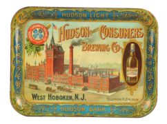 Hudson County Consumers Brewing Company Serving Tray, West Hoboken, N.J.